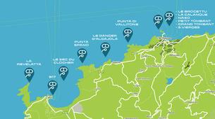 Scuba Diving-L'Île-Rousse-First scuba dive in l'Ile Rousse, Corsica-5