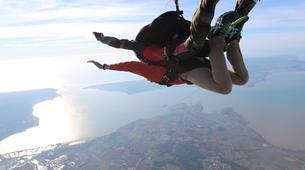Parachutisme-Ile d'Oléron-Saut en Parachute Tandem à 3500m à Marennes, Île d'Oléron-3