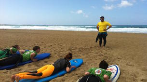 Surf-La Canee-Beginner surfing lessons in Chania-4