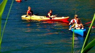 Kayaking-Marbella-Lake kayak tour in Istan, in the northwest of Marbella-6