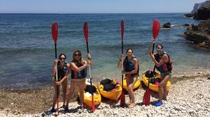 Sea Kayaking-Costa Blanca-Sea Kayaing Tour of Tallada Caves in Denia-2