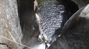 Canyoning-Céret-Canyon Découverte du Gourg des Anelles à Céret-3