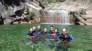 Canyoning-Porto Ota-Family friendly canyon of Zoicu near Guagno, Haut-Sorru-2