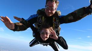 Parachutisme-Ile d'Oléron-Saut en Parachute Tandem à 3500m à Marennes, Île d'Oléron-4