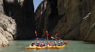 Kayaking-Mont-rebei Gorge-Trek & Kayak Combo Tour in Mont-Rebei Gorge-3