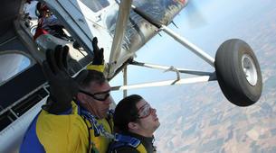 Skydiving-Paris-Tandem skydive in Peronne, near Paris-6