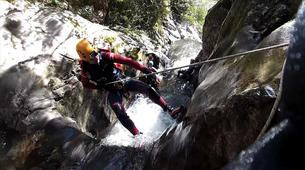 Canyoning-Cantabrie-Canyoning at Chorretones Gorge in Cantabria-1