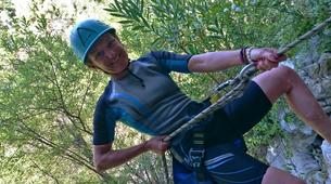 Canyoning-Costa del Sol-Discovery canyon of the Gorges of Guadalmina River-4