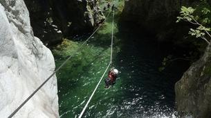 Canyoning-Corte-Canyon du Verghellu, près de Corte-1