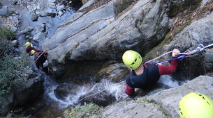 Canyoning-Prades-Hot spring canyon of Thuès-Entre-Valls-6