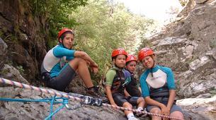 Canyoning-Porto Ota-Family friendly canyon of Zoicu near Guagno, Haut-Sorru-1