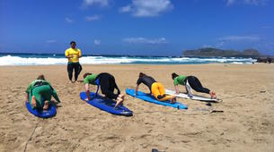 Surf-La Canee-Beginner surfing lessons in Chania-3