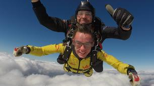 Skydiving-Liege-Tandem skydive from 4000m in Spa, Belgium-1