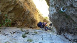Via Ferrata-Province Huesca-Via Ferrata Sorrosal en Broto and Foradada del Toscar in Huesca-5