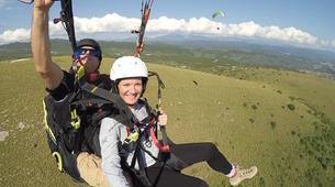 Paragliding-Preveza-Tandem paragliding flight over Preveza, Greece-1