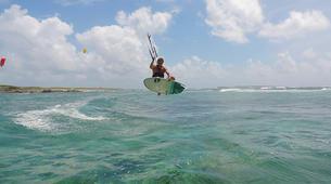 Kitesurfing-Saint Martin-Private Kitesurfing Coaching in Orient Bay, St Martin-9