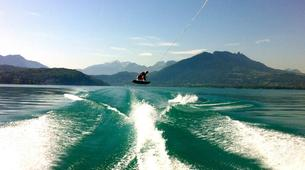 Wakeboarding-Annecy-Private wakeboarding and wakesurfing boat hire in Lake Annecy-4