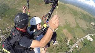 Paragliding-Preveza-Tandem paragliding flight over Preveza, Greece-4