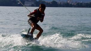 Wakeboard-Annecy-Coaching Privé Initiation Wakeboard ou Wakesurf Bateau au Lac d'Annecy-2