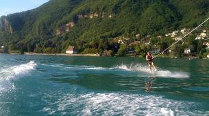 Wakeboarding-Annecy-Boat wakeboarding or wakesurfing beginner private coaching in Lake Annecy-6