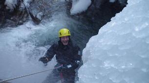 Canyoning-Hautes-Pyrénées-Canyon Hivernal / Ice Canyoning dans les Pyrénées-2
