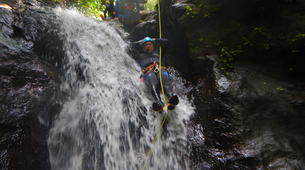 Canyoning-Fort-de-France-Tropical Discovery Canyons in Martinique-4