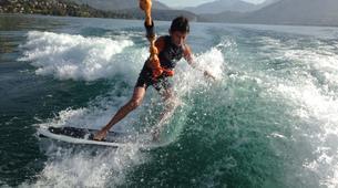 Wakeboard-Annecy-Coaching Privé Initiation Wakeboard ou Wakesurf Bateau au Lac d'Annecy-3