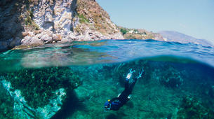 Plongée sous-marine-Iles Eoliennes-Adventure dives in Aeolian Islands-1