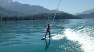 Wakeboard-Annecy-Coaching Privé Initiation Wakeboard ou Wakesurf Bateau au Lac d'Annecy-5