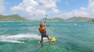 Kitesurfing-Saint Martin-Private Kitesurfing Coaching in Orient Bay, St Martin-1