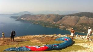 Paragliding-Lefkada-Tandem paragliding flight over Lefkada, Greece-5