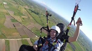 Paragliding-Preveza-Tandem paragliding flight over Preveza, Greece-6