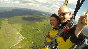 Skydiving-Liege-Tandem skydive from 4000m in Spa, Belgium-2