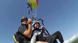 Paragliding-Preveza-Tandem paragliding flight over Preveza, Greece-3