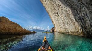 Sea Kayaking-Ithaca-3 Day sea kayaking trip in Ithaca-1