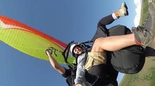 Paragliding-Preveza-Tandem paragliding flight over Preveza, Greece-5