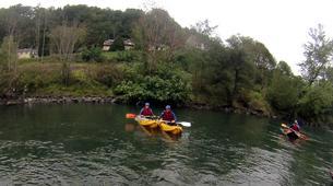 Canoë-kayak-Hautes-Pyrénées-Canoë Kayak sur le Gave de Pau, Hautes Pyrénées-3