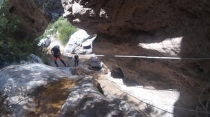 Canyoning-Grenade, Andalousie-Canyoning at Rio Verde in the Sierra Nevada-3