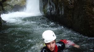 Canyoning-Cevennes National Park-Initiation Canyon of Tapoul in Lozère-4