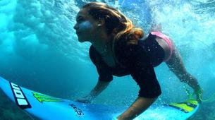 Surfing-Saint Martin-Surfing courses and lessons at Galion beach, St Martin-4