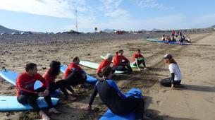 Surfing-Caleta de Famara, Lanzarote-Surfing courses in Caleta de Famara, Lanzarote-5