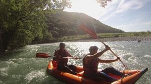Canoë-kayak-Hautes-Pyrénées-Canoë Kayak sur le Gave de Pau, Hautes Pyrénées-2