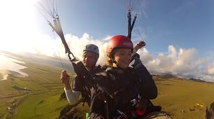 Paragliding-Vik i Myrdal-Tandem paragliding flight over Vik i Myrdal, Iceland-8