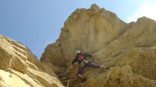 Rock climbing-Ardeche-Escalade en Grande Voie dans les Gorges de l'Ardèche-1