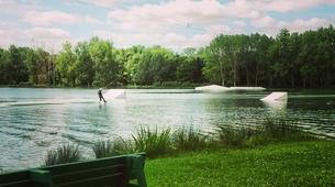 Wakeboarding-Lake Magne-Private wakeboarding cable hire near Poitiers-2