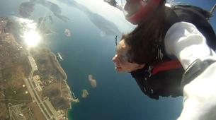 Skydiving-Athens-Tandem skydiving from 3500m in Athens-5