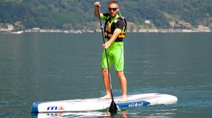 Stand Up Paddle-Lac de Côme-Stand up paddle safari in Colico, Lake Como-2