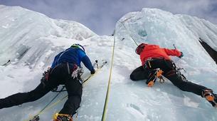Ice Climbing-Chamonix Mont-Blanc-Ice Climbing in Chamonix Valley with experienced Guide, Johann-1