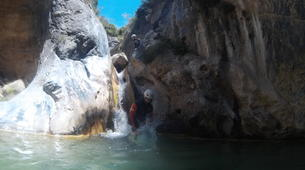 Canyoning-Grenade, Andalousie-Canyoning at Rio Verde in the Sierra Nevada-7