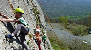 Escalade-Bagnères-de-Luchon-Initiation à l'Escalade sur le Rocher Ecole de Saint-Mamet-5